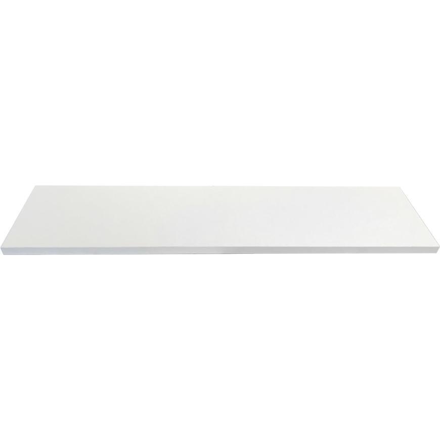 Laminátová regalova polica 1,8x40x120cm biela
