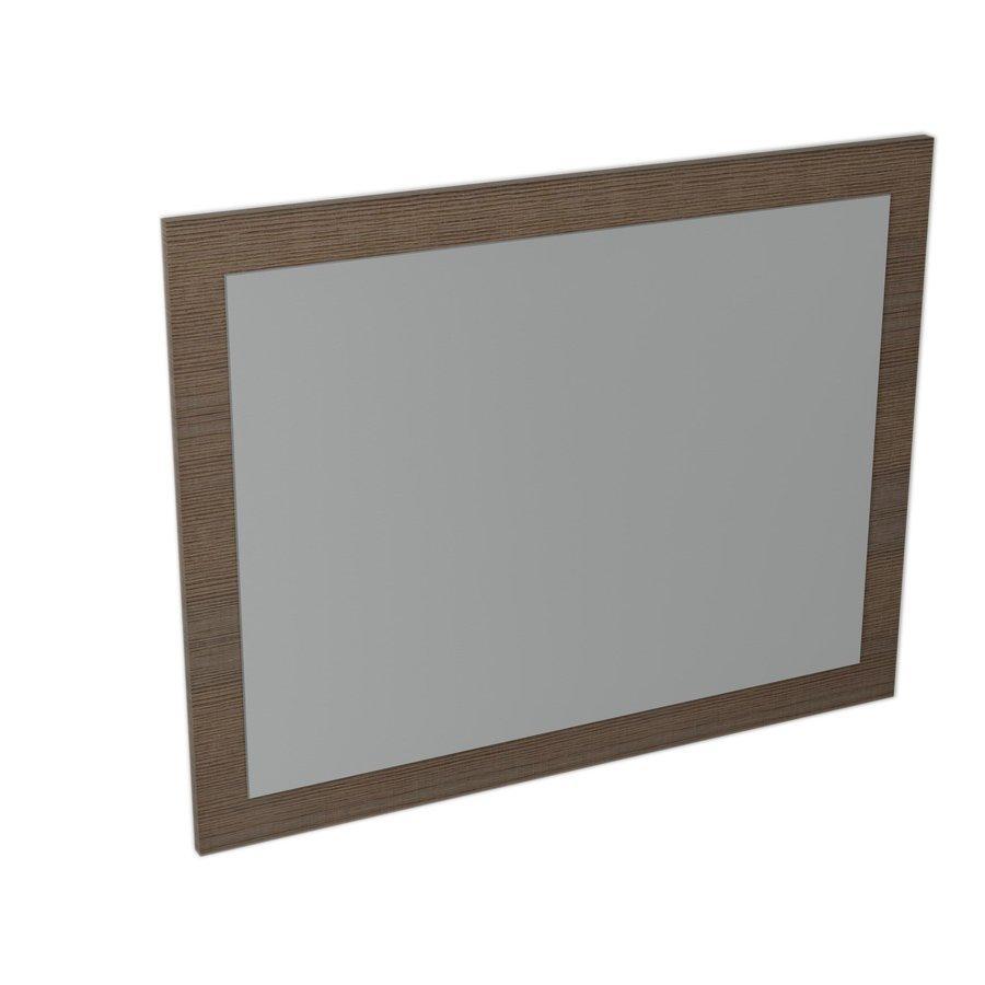 Largo LA712 zrkadlo v ráme 70x90x2,8 cm, borovica rustik