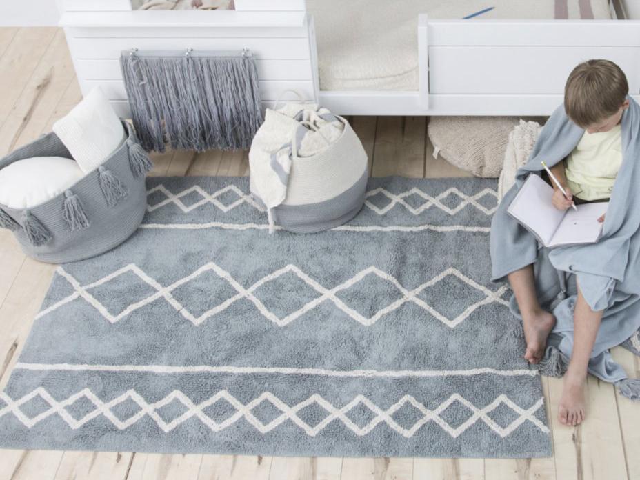 LC Prateľný koberec Oasis Blue 120x160
