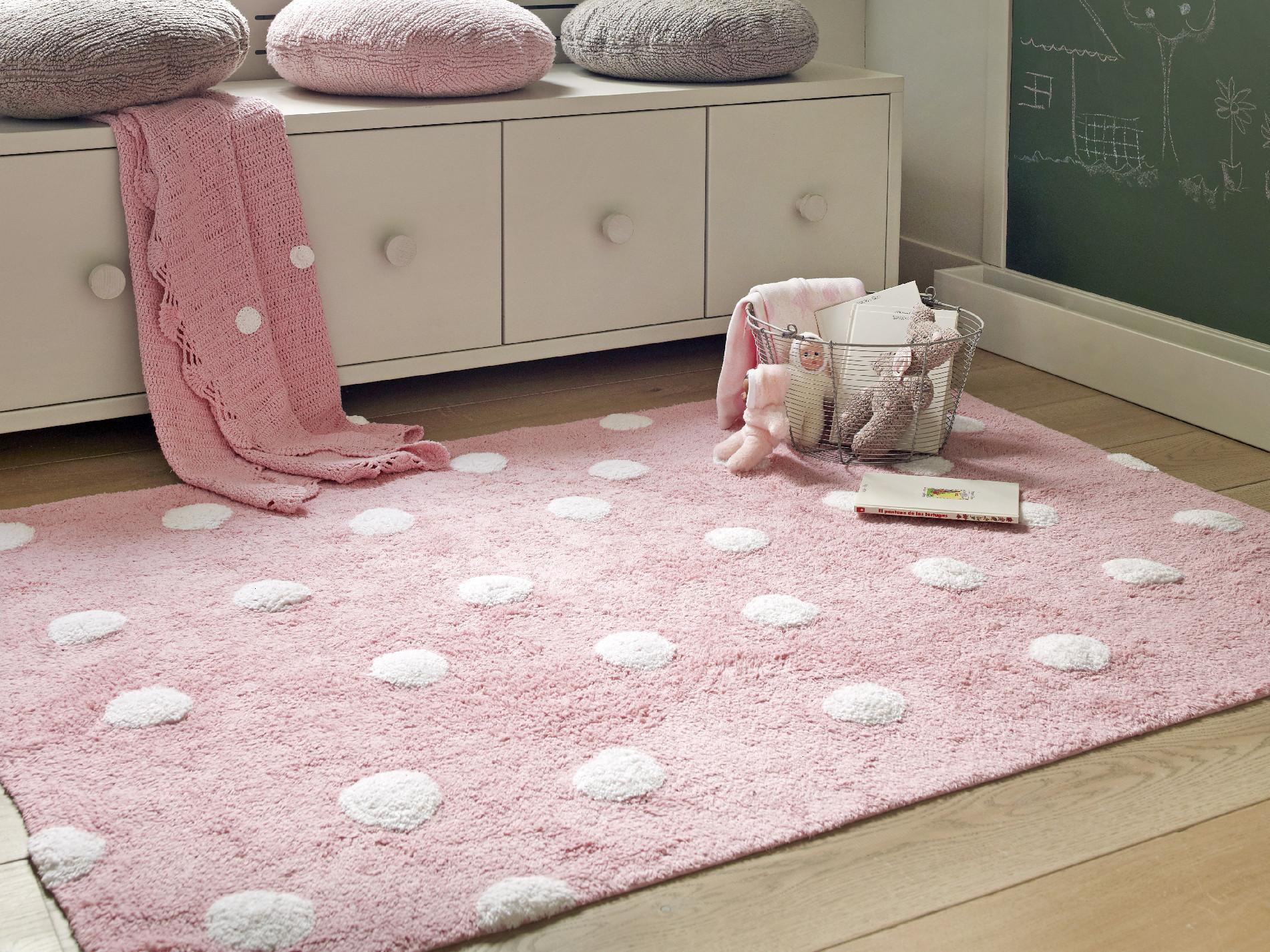 LC Prateľný koberec Topos Rosa 120x160