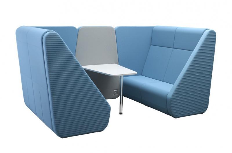 LD SEATING 2-místný box MEETING PORT KM2/BR-02