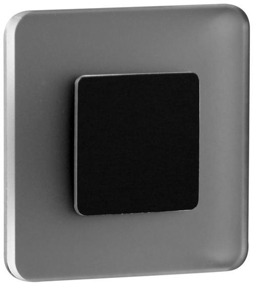 LDST SW-01-SC-BZ8 - LED schodiskové svietidlo SWIFT 8xLED/1,2W/230V matná čierna