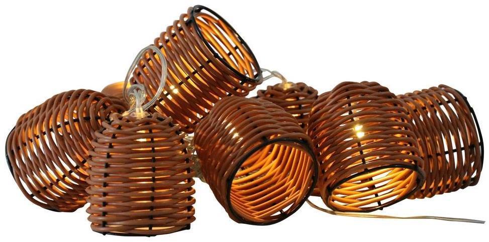 LED Dekoračné svietidlo KORG 10xLED/2xAA
