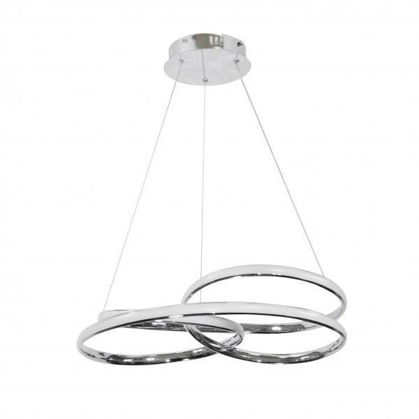 LED Luster na lanku ORBI LED/42W/230V