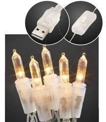 LED mini světlelná reťaz Hellum vnútorné 523126, napájanie cez USB, N/A, 3.5 m