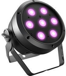 LED PAR svetlomet Cameo ROOT PAR 4, 7 4 W, čierna