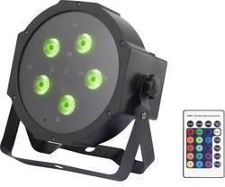 LED PAR svetlomet Renkforce GM307 Počet LED: 5 x 9 W
