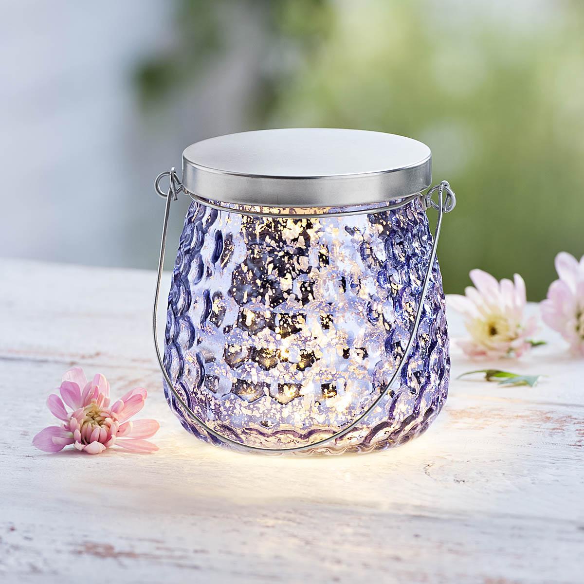LED svetlo Elegance, fialovej