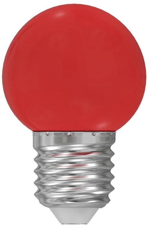 LED žiarovka E27/1W/230V červená 5500-6500K