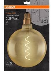 LED žiarovka OSRAM 4058075269729 230, E27, 5 W, teplá biela, A + (A ++ - E), tvar glóbusu, 1 ks