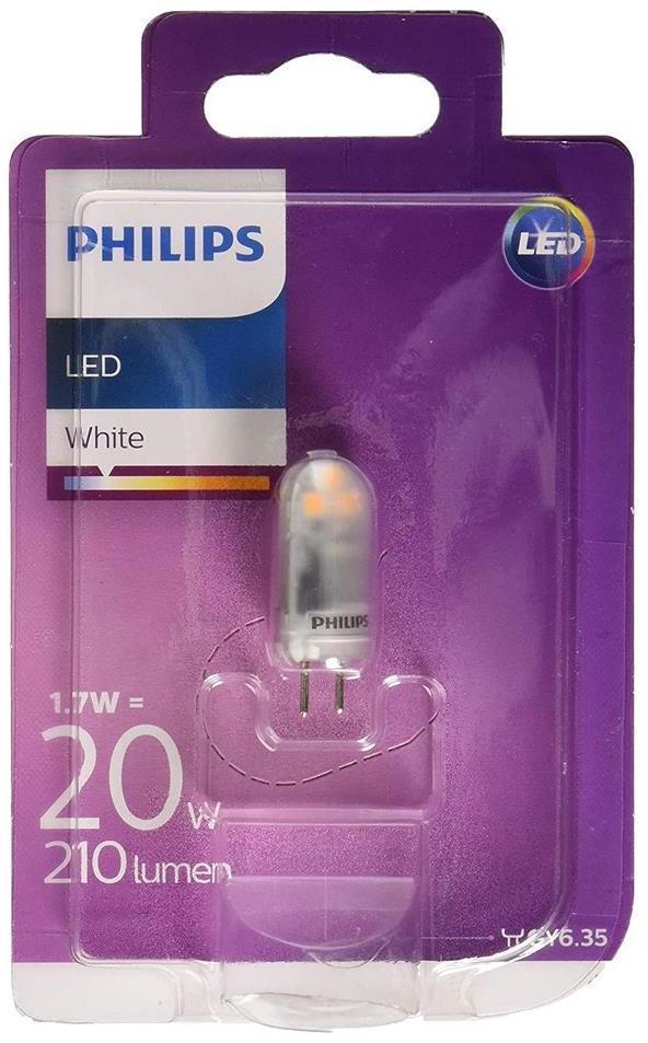 LED Žiarovka Philips GY6,35/1,7W/12V 3000K