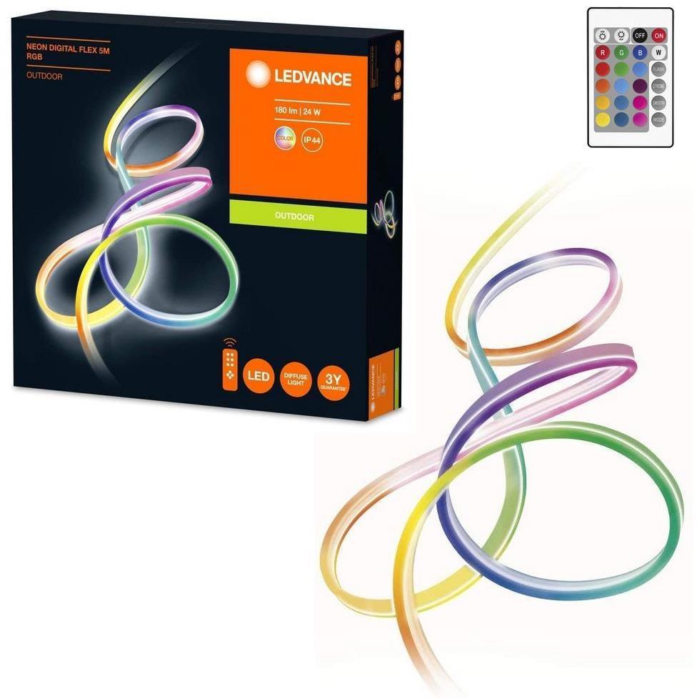 Ledvance - LED RGB Stmievateľný vonkajší pásik FLEX 5m LED/23W/230V IP44 + DO