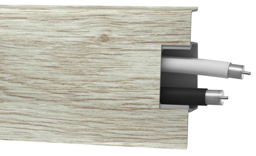 LISTA PVC ARBITON MACK DUB PLATINA 135