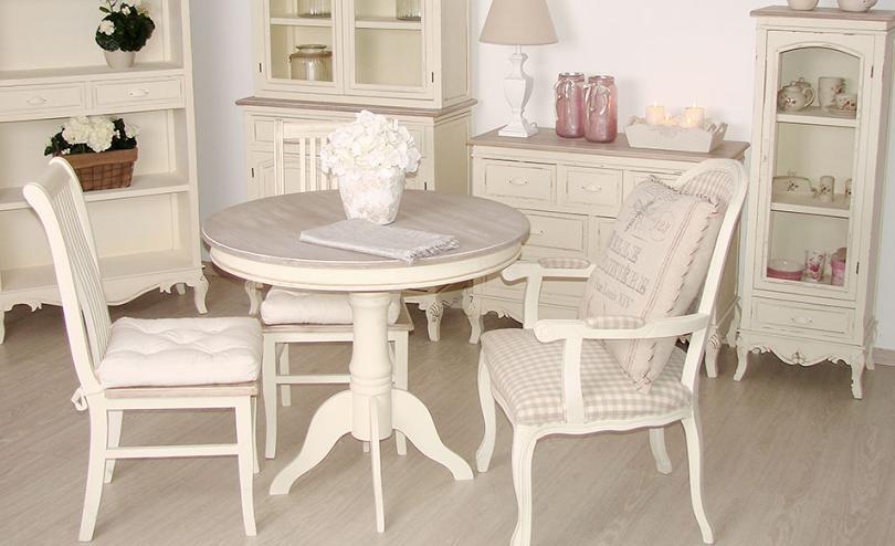 Livin Hill Stôl RI026 Rimini Farba: Biela-RI026W