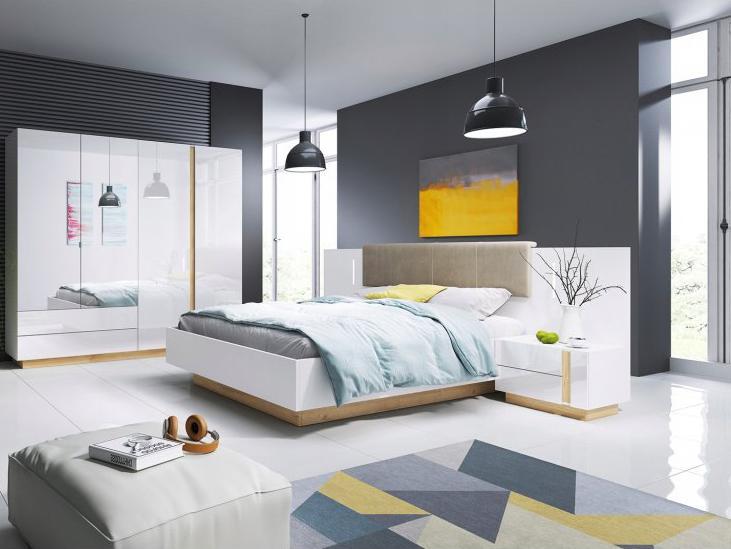 LM Manželská posteľ Penny 200x160 - biela