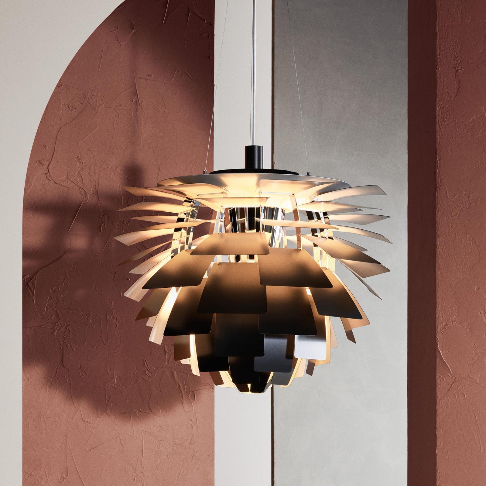 Louis Poulsen Louis Poulsen PH Artichoke záv. lampa čierna 60cm