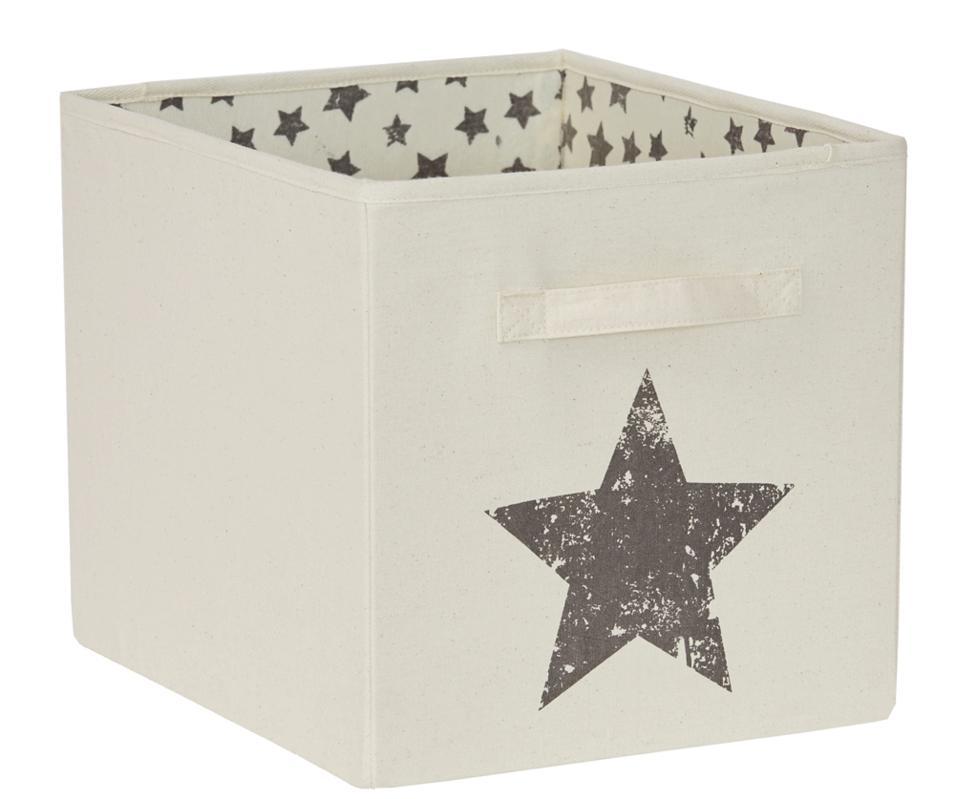 LOVE IT STORE IT - Veľký box na hračky - prírodná farba, Star