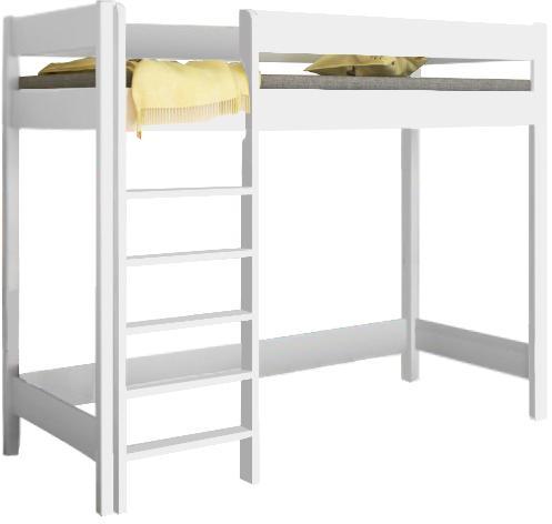 LU Vyvýšená posteľ Hugo Pred - biela Rozmer: 180x80