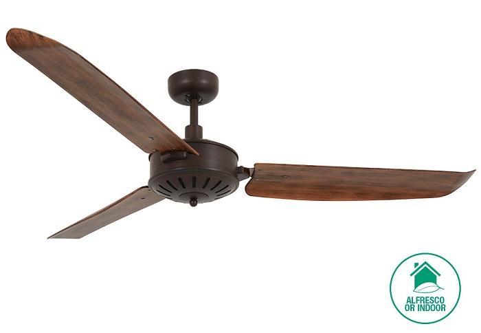 "LUCCI AIR AIRFUSION CAROLINA 211017 56"" bronz/koa Reverzný stropný ventilátor"