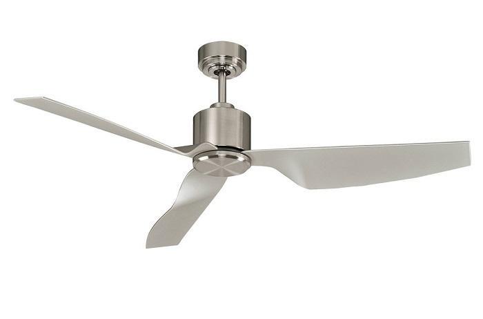 """LUCCI AIR AIRFUSION CLIMATE II 210525 50"""" brúsený chróm/strieborná Reverzný stropný ventilátor"""