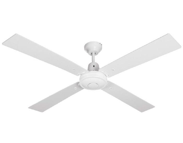 "LUCCI AIR AIRFUSION QUEST II 210336 52"" biela/biely dub Reverzný stropný ventilátor"