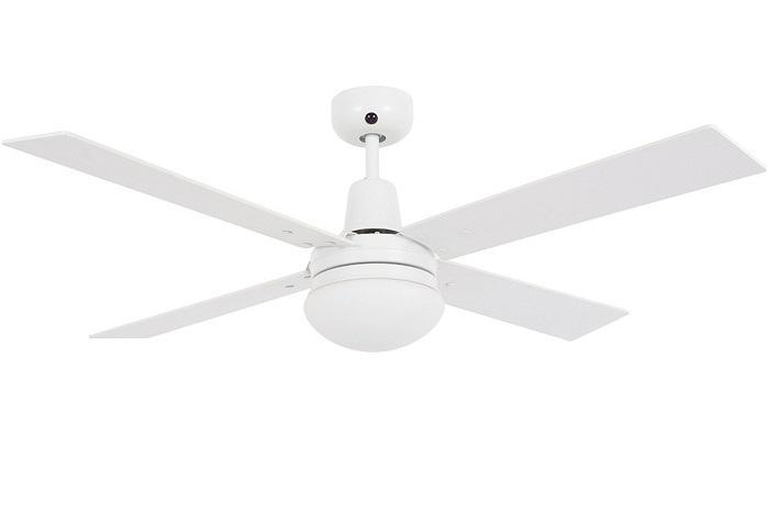 "LUCCI AIR AIRFUSION QUEST II 210339 48"" biela/dub Reverzný stropný ventilátor"