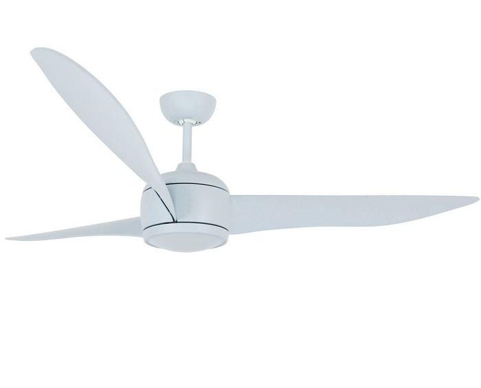 """LUCCI AIR NORDIC 212912 56"""" matná modrá Reverzný stropný ventilátor"""