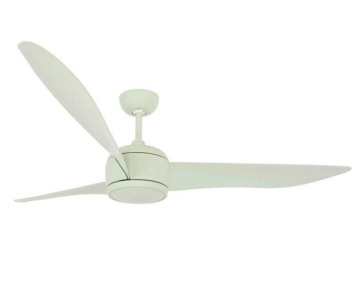 """LUCCI AIR NORDIC 212913 56"""" matná mint Reverzný stropný ventilátor"""