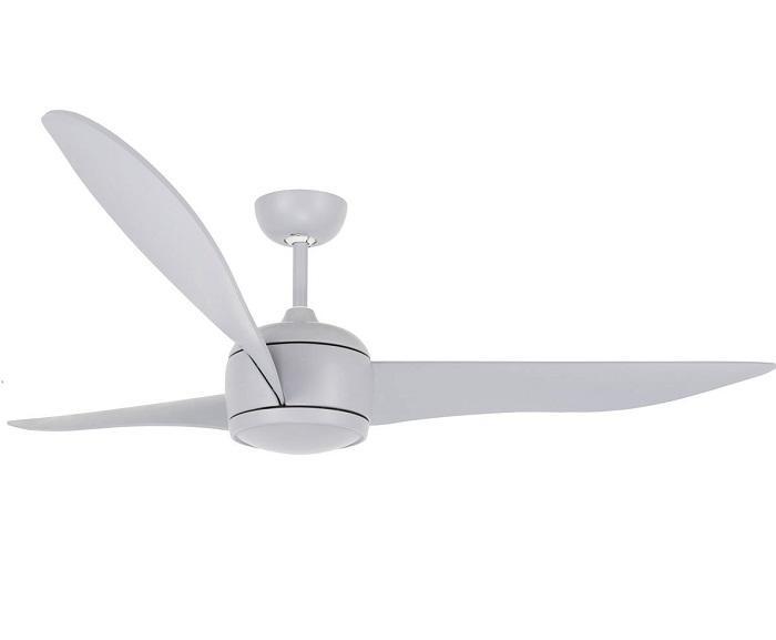 """LUCCI AIR NORDIC 212914 56"""" matná šedá Reverzný stropný ventilátor"""