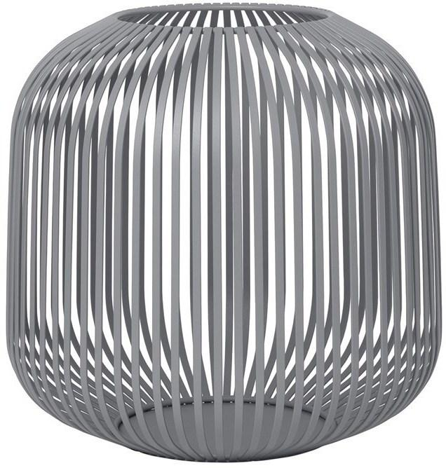 Lucerna Blomus Lito 27,5 cm | ocelově šedá