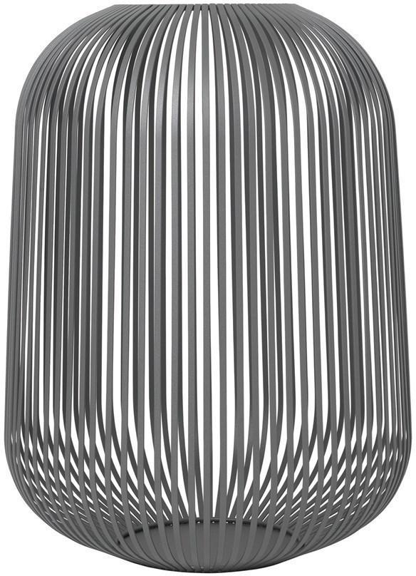 Lucerna Blomus Lito 33 cm | ocelově šedá