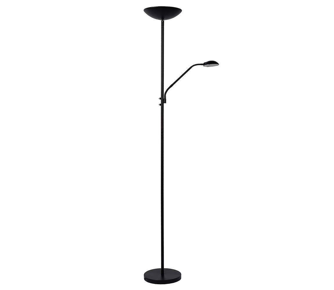 Lucide 19791/24/30 - LED Stojacia lampa ZENITH LED/20W+LED/4W