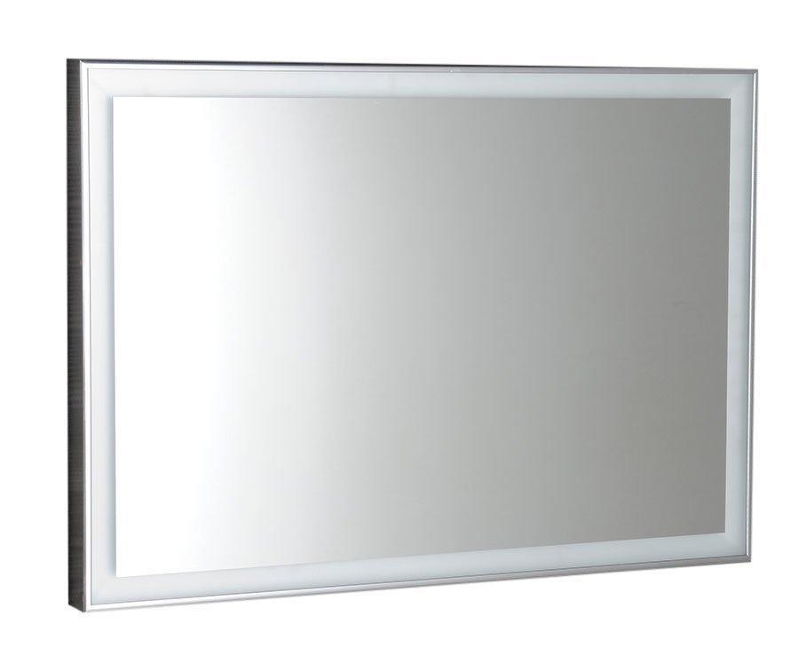 Luminar NL559 zrkadlo v ráme s LED osvetlením 90x50 mm, chróm