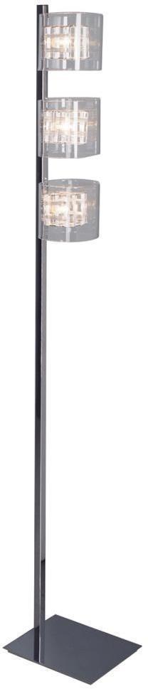 Luxera 46005 - Stojacia lampa TOGO 3xG9/40W/230V