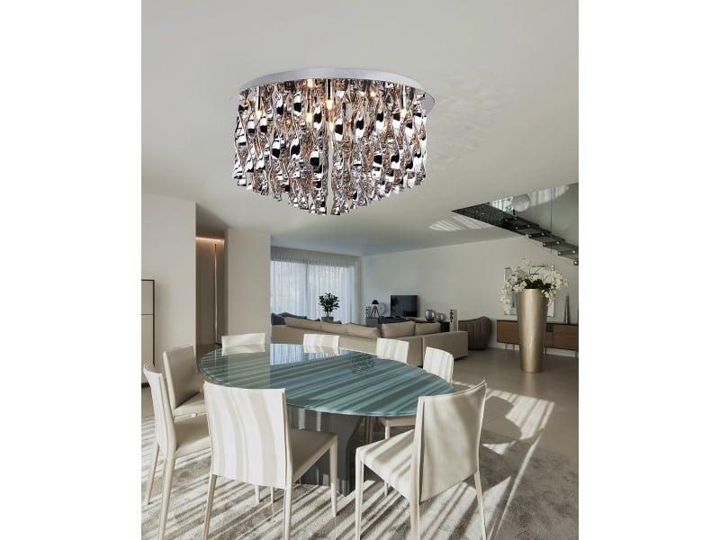 Luxusné svietidlo AZZARDO JEWEL 90 chróm AZ1661