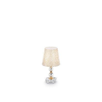 Luxusné svietidlo IDEAL LUX Queen TL1 small ZLATÁ 077734