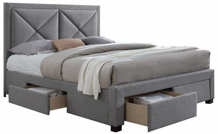 Manželská posteľ 160 cm Grupo (s roštom a úl. priestorom)