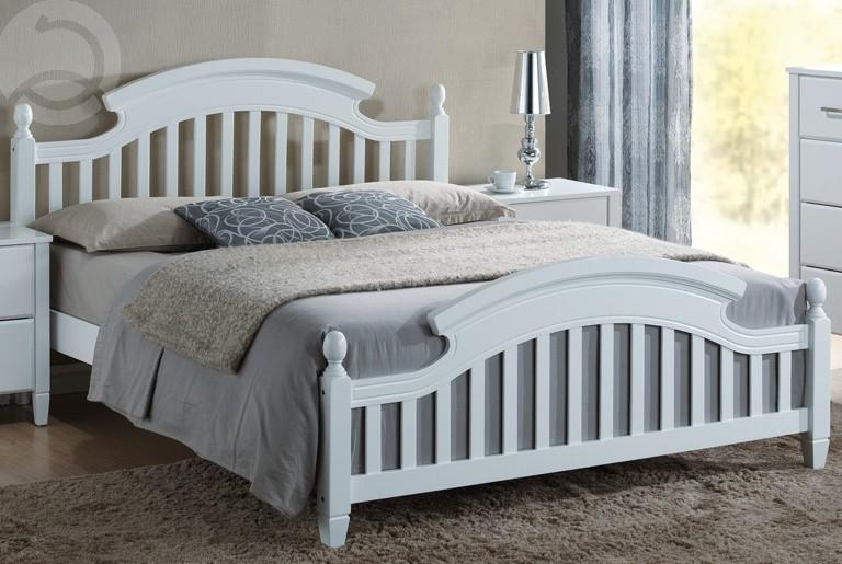 Manželská posteľ 160 cm Lizbona (s roštom)