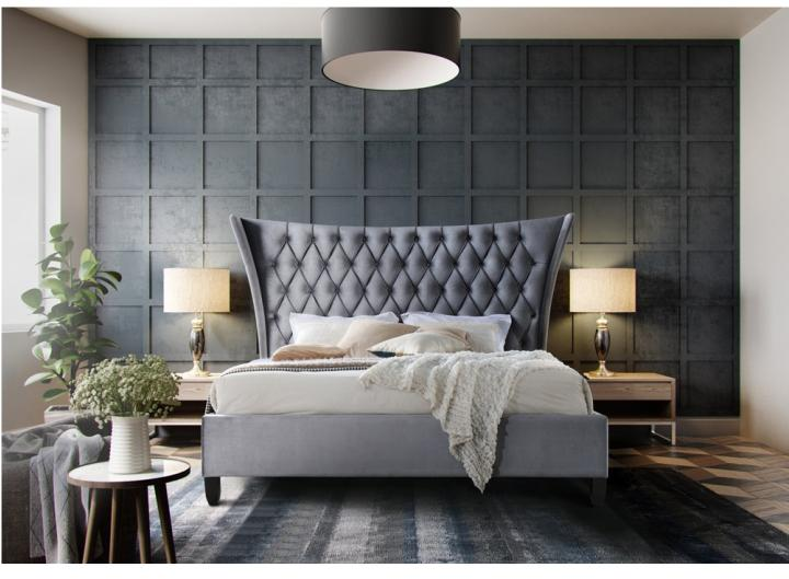 Manželská posteľ 180 cm Alesia (s roštom)