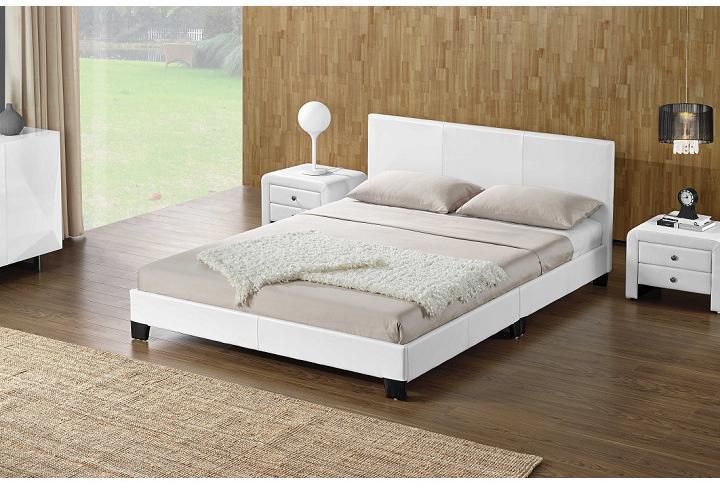 Manželská posteľ 180 cm Danala (s roštom)