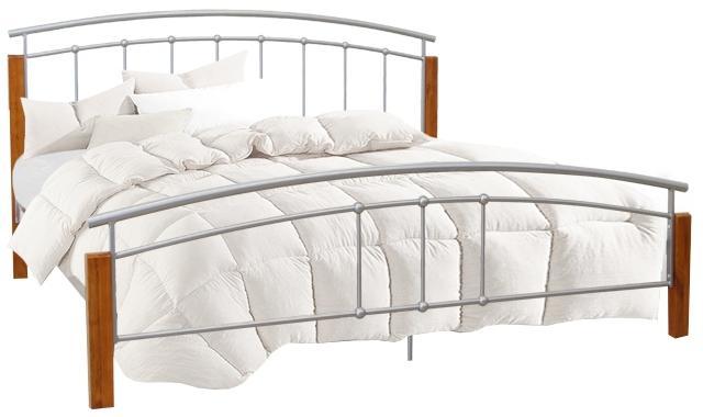 Manželská posteľ 180 cm Malbrua (s roštom)