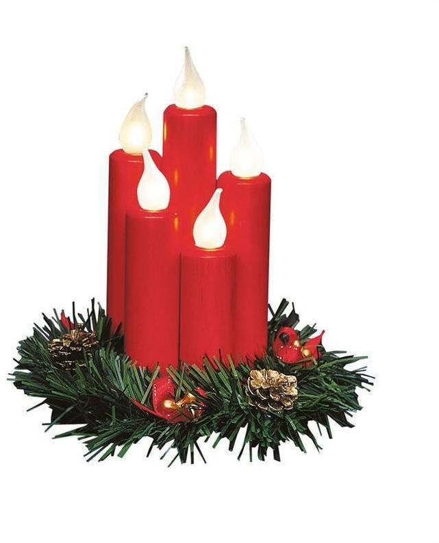 Markslöjd 704017 - LED Vianočný svietnik HANNA 5xE10/0,06W/230V