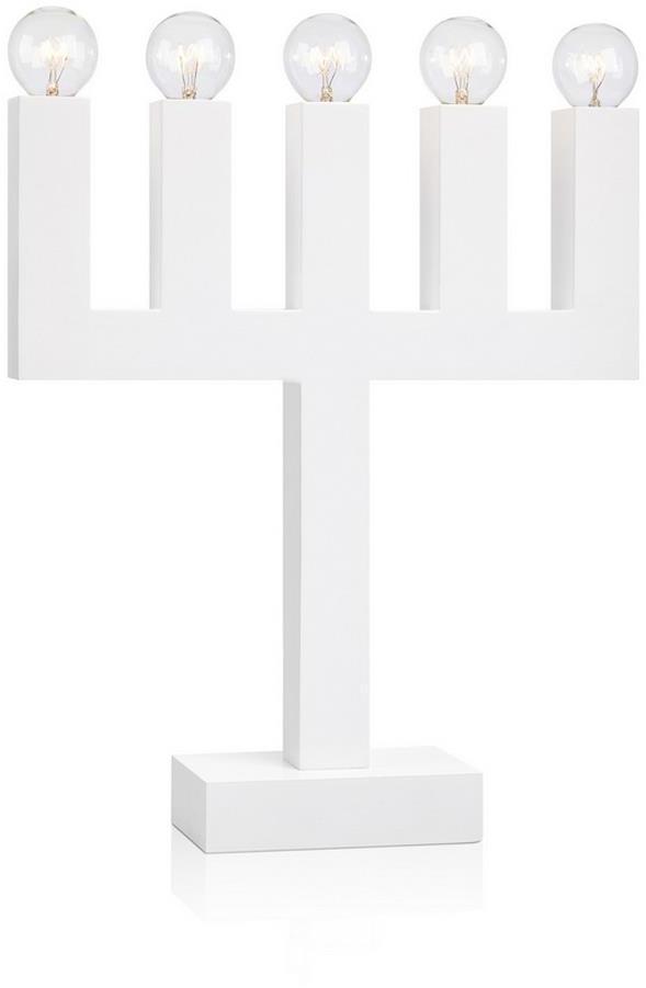 Markslöjd 704450 - Vianočný svietnik AGNE 5xE14/5W/230V biela
