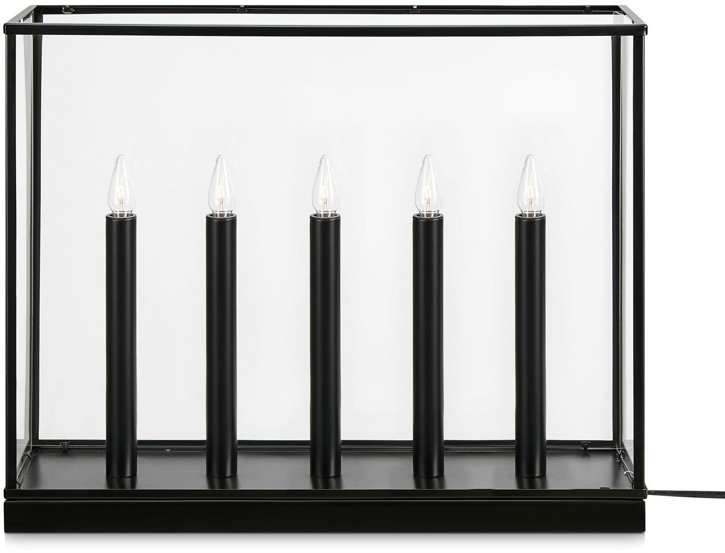 Markslöjd Svietnik Imagine, päť-plameňový, čierny