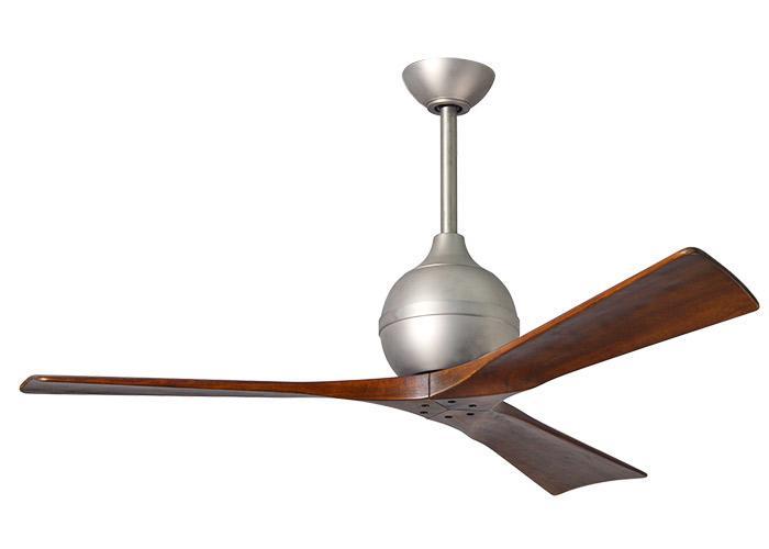 "MATTHEWS IRENE IR3-2 42"" matný nikel/orech Reverzný stropný ventilátor"