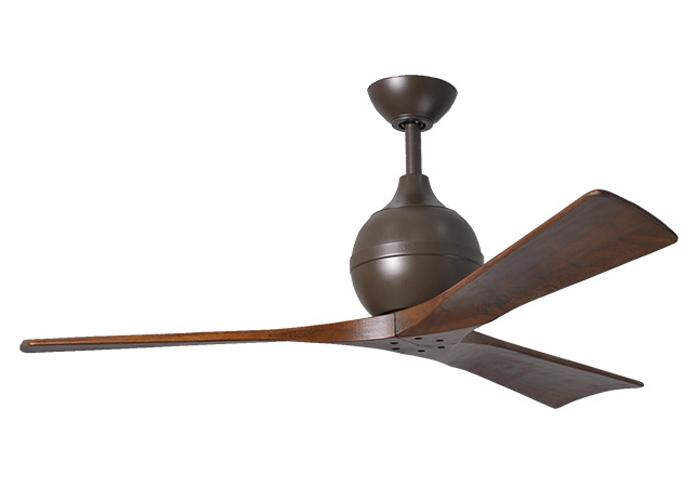 "MATTHEWS IRENE IR3-3 42"" bronz/orech Reverzný stropný ventilátor"