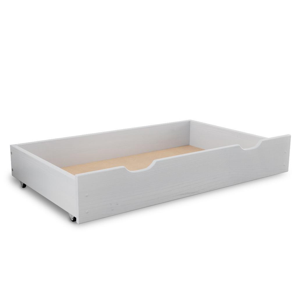 Maxi Drew Úložný box pod posteľ 150 cm, biely