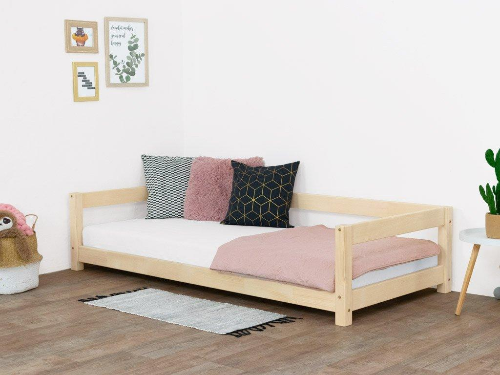 MAXMAX Detská posteľ z masívu 200x90 cm STUDY