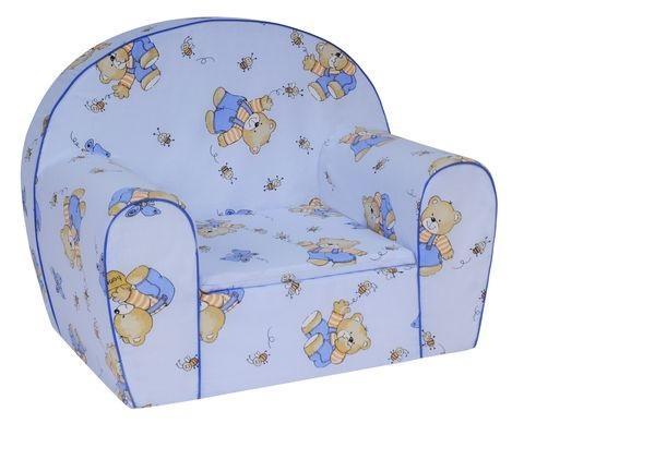 MAXMAX Detské kresielko Medová - modré