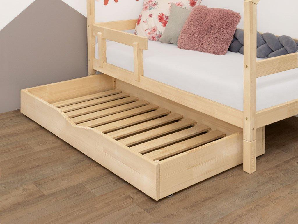MAXMAX Šuplík 180x120 cm s prídavnými nohami k posteli 200x120 cm